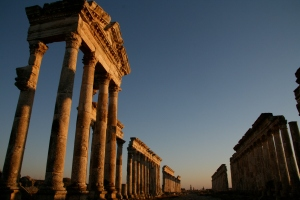 Ruinas de Palmira. Siria antes de la guerra.