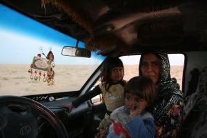 El desierto sirio, tierra de interminables llanuras antes de que seis millones de personas se convirtieran en refugiados.