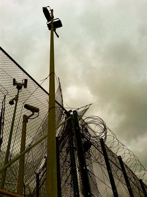 42 cámaras vigilan la frontera.
