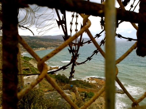La concertina de la valla de Melilla.