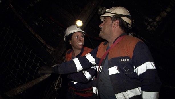 Entrar como turista en una mina asturiana de carbón cuesta 48 euros.
