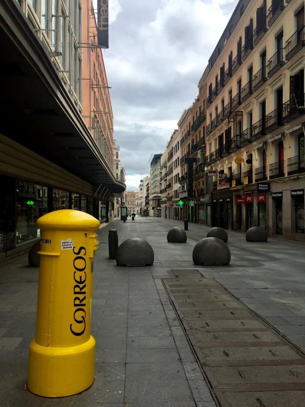 Calle del Carmen Coronavirus